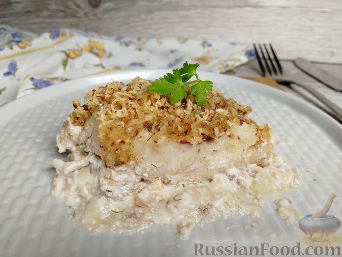образом рыба под ореховым соусом с фото что большая часть