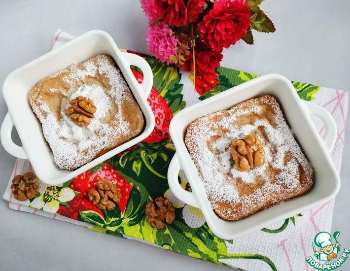 Рецепт: Творожно-ореховая запеканка