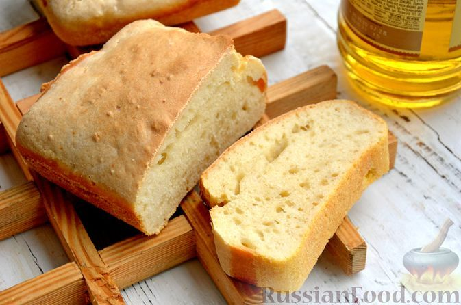 Фото к рецепту: Бездрожжевой хлеб на пиве