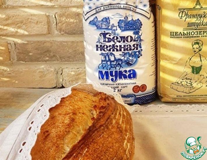 Рецепт: Хлеб Панекафоне на закваске
