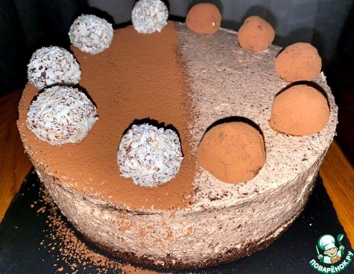 Рецепт: Торт Шоколадное безумие