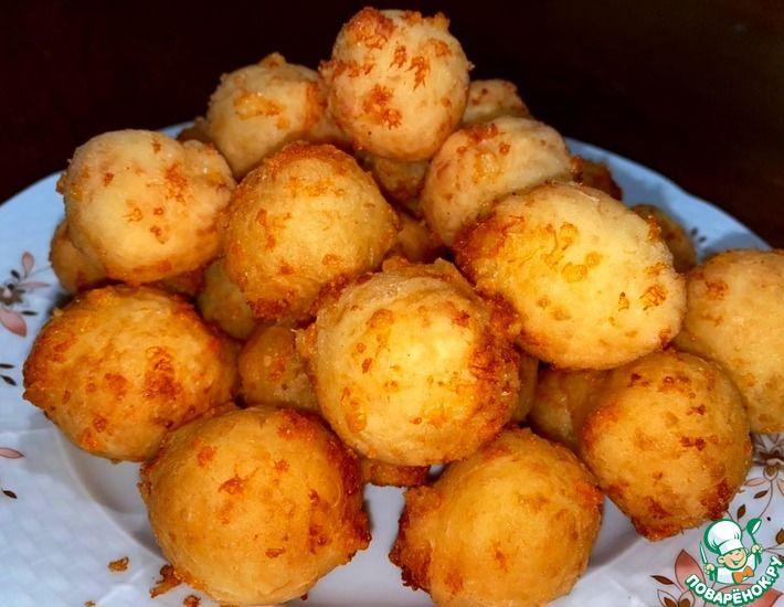 Рецепт: Сырные шарики