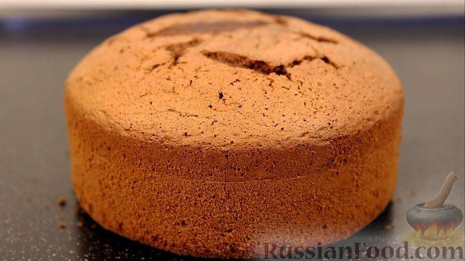 Фото к рецепту: Шоколадный бисквит на какао