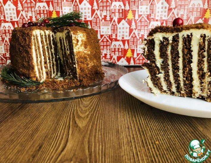 Рецепт: Торт Новогодний