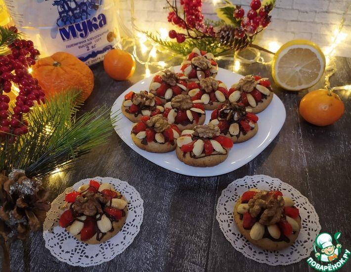 Рецепт: Нюрнбергские пряники с вишней и орехами