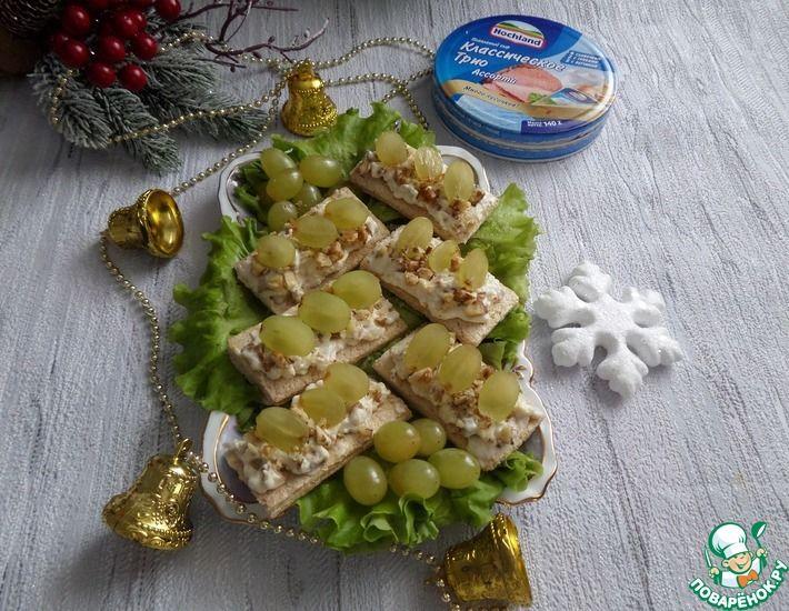 Рецепт: Закусочные хлебцы с плавленым сыром