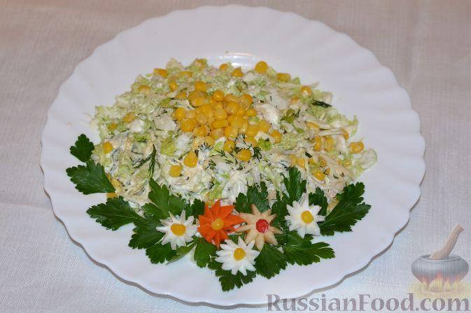 Фото к рецепту: Салат из пекинской капусты