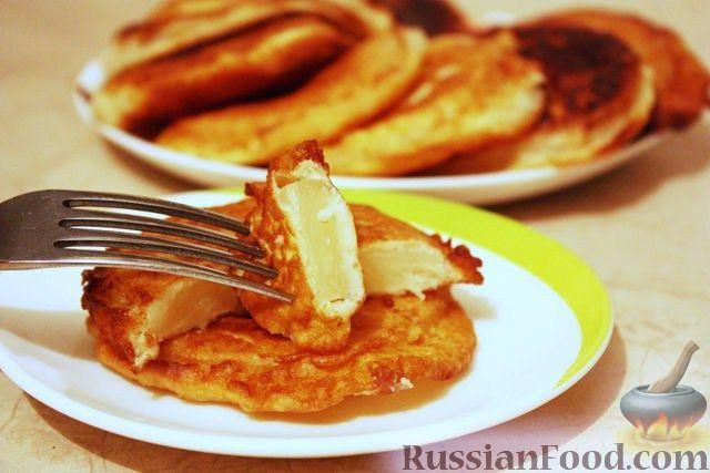 Фото к рецепту: Ананасовые пончики