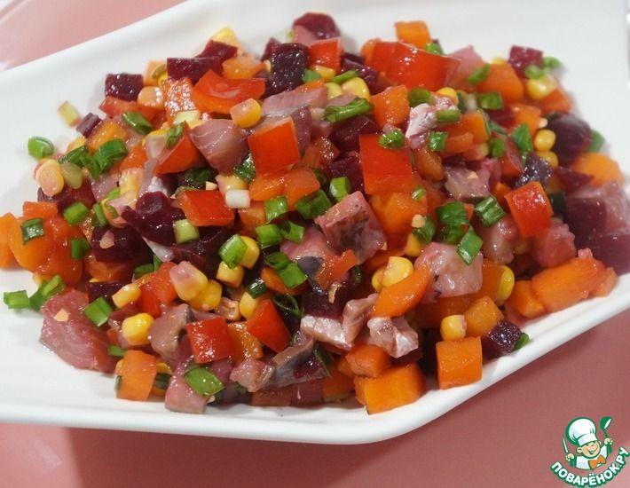 Рецепт: Салат Мексиканка