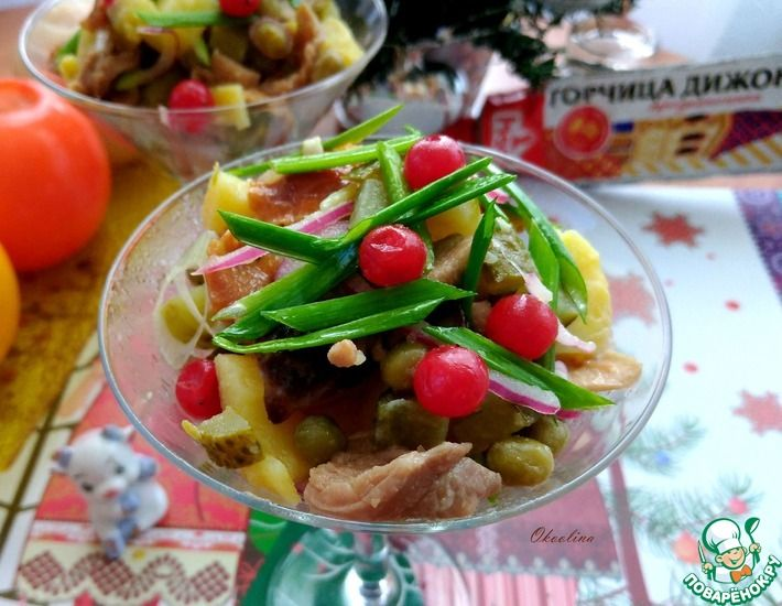 Рецепт: Салат по-русски