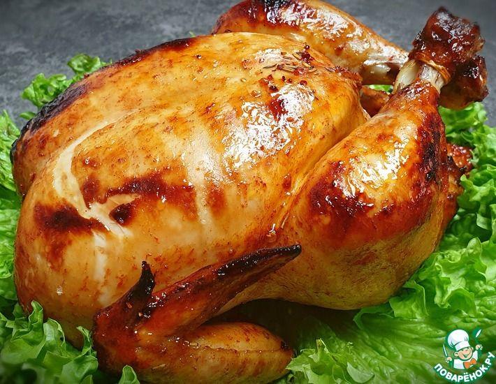 Рецепт: Курица гриль с хрустящей корочкой