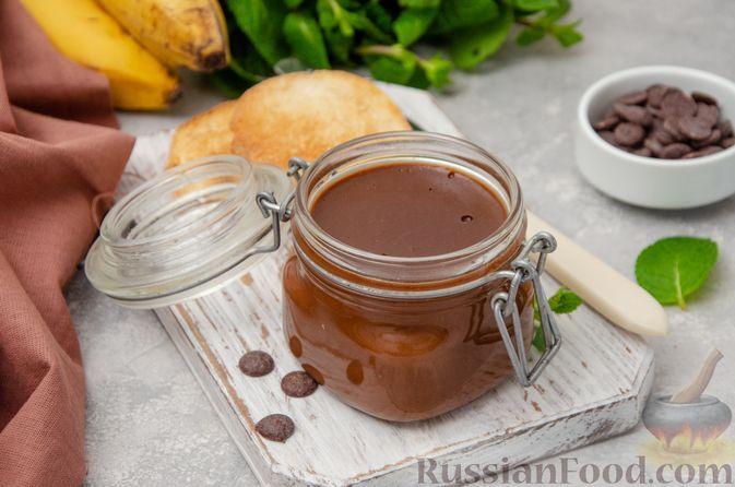Фото к рецепту: Шоколадно-банановая паста с апельсином