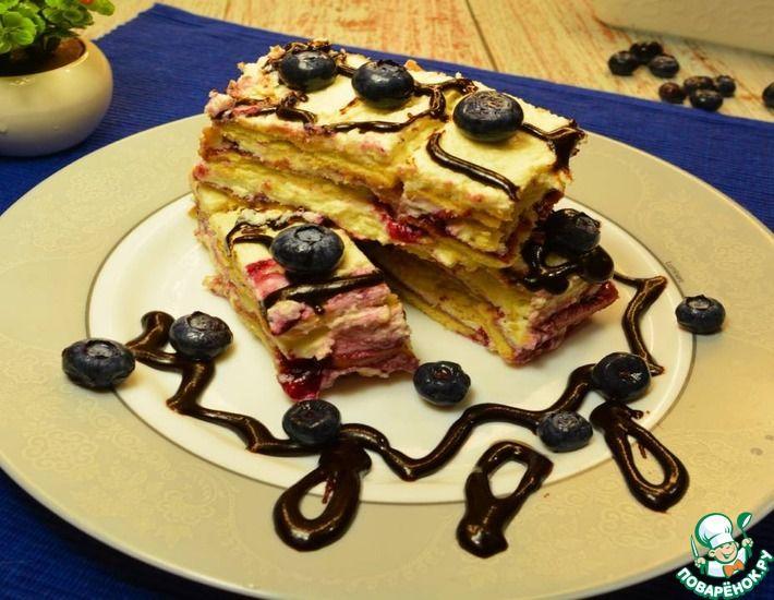 Рецепт: Изумительно вкусный торт без выпечки