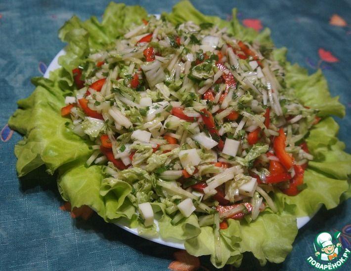 Рецепт: Салат Болгария