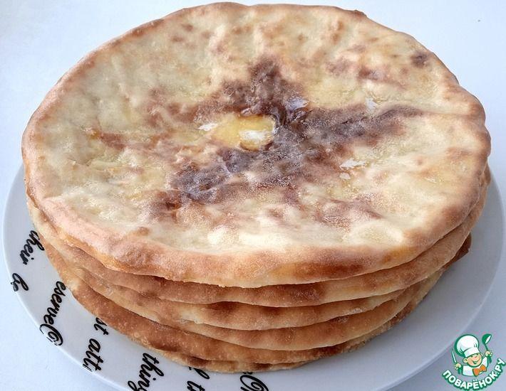 Рецепт: Осетинские пироги с картошкой