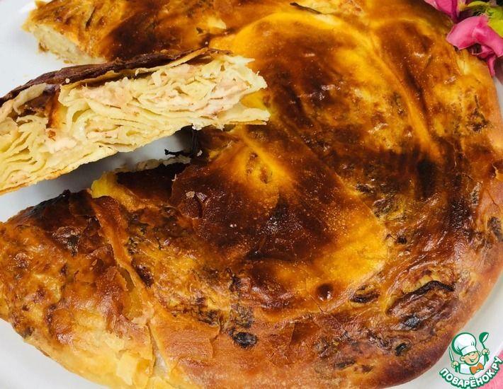 Рецепт: Катлама с мясом в духовке