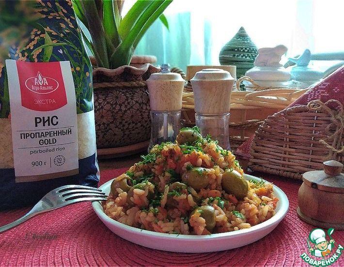Рецепт: Рис в томатно-тунцовом соусе