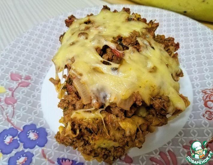 Рецепт: Картофельная запеканка под сыром