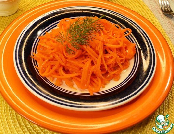 Рецепт: Сочный салат из моркови за 5 минут