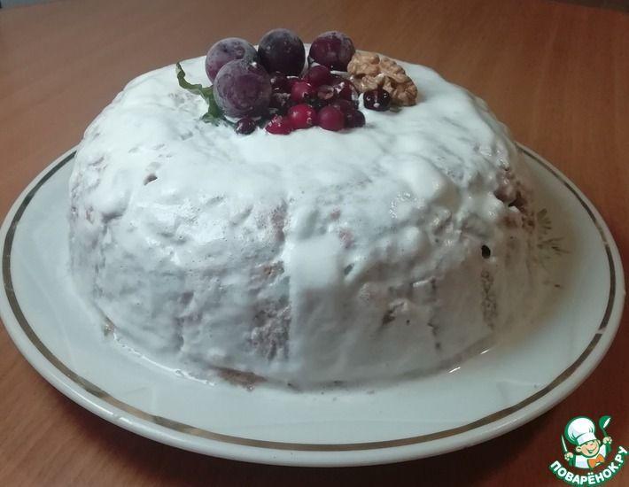 Рецепт: Торт из печенья без выпечки. Самый простой и быстрый рецепт