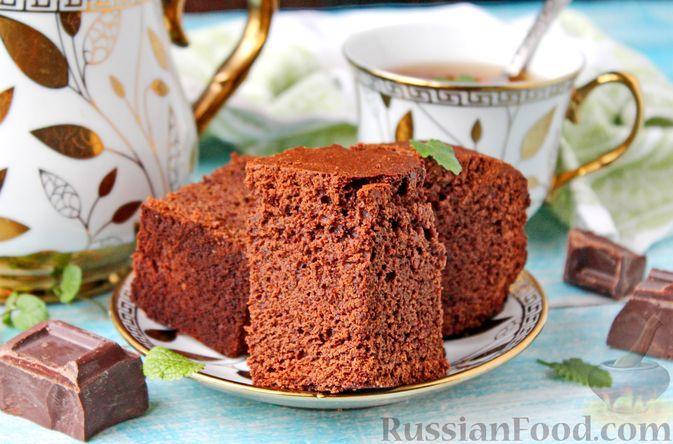 Фото к рецепту: Брауни со сливочным ликёром