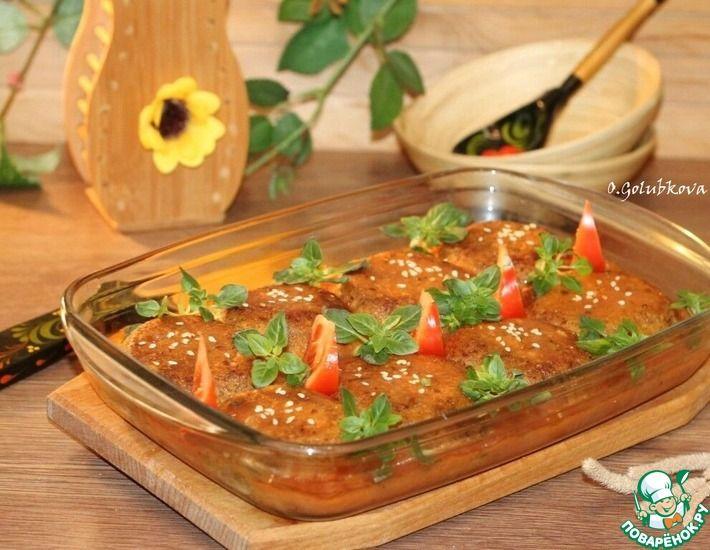 Рецепт: Фасолевые котлеты с овощами и грибами