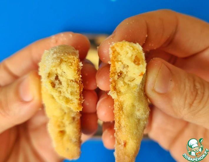 Рецепт: Апельсиновые печенья