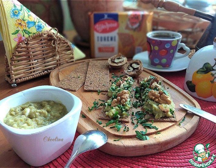 Рецепт: Паштет из зелёного горошка на тосты