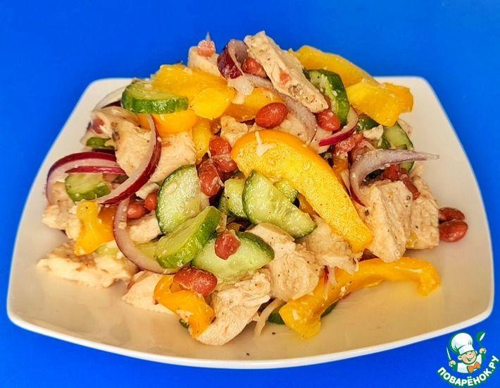 Рецепт: Лёгкий салат