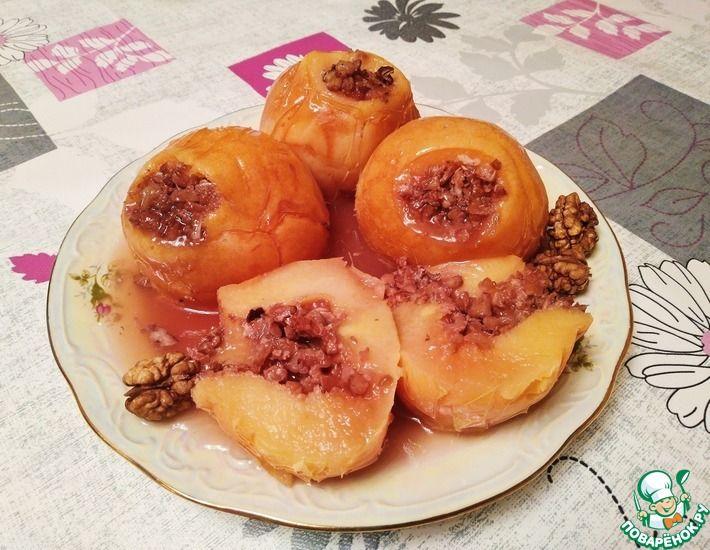 Рецепт: Десерт из айвы без духовки