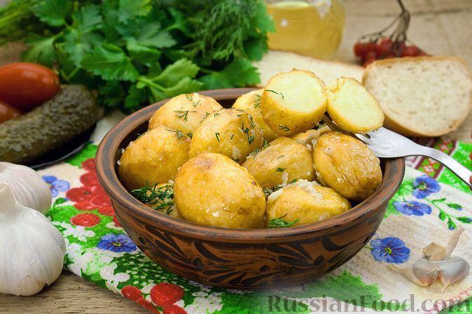 Фото к рецепту: Картошка по-улановски