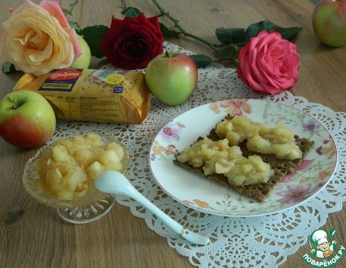 Рецепт: Имбирные яблоки Повышаем иммунитет
