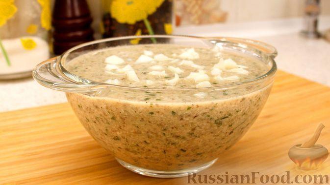 Фото к рецепту: Французский грибной суп-пюре