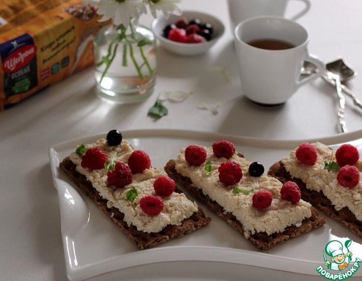 Рецепт: Творожный десерт к хлебцам