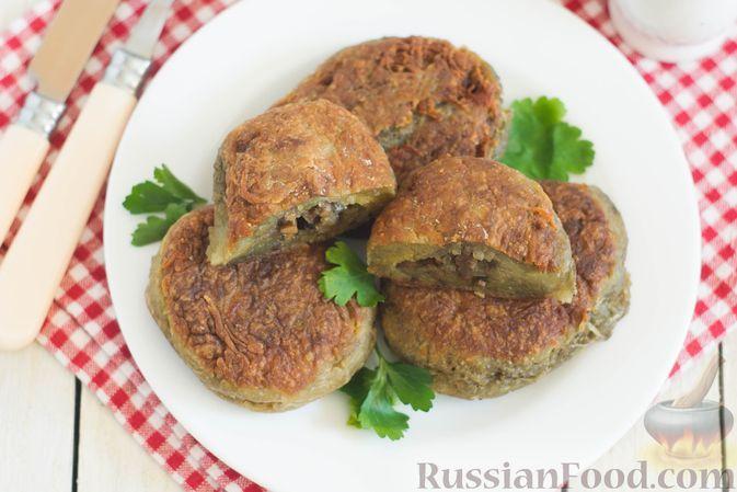Фото к рецепту: Постные картофельные колдуны с грибами