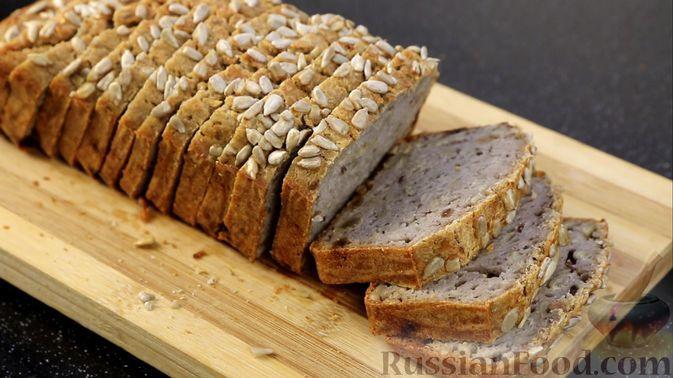 Фото к рецепту: Безглютеновый хлеб из зелёной гречки