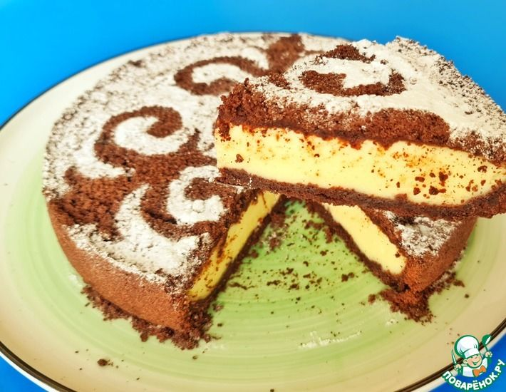Рецепт: Королевский творожный пирог