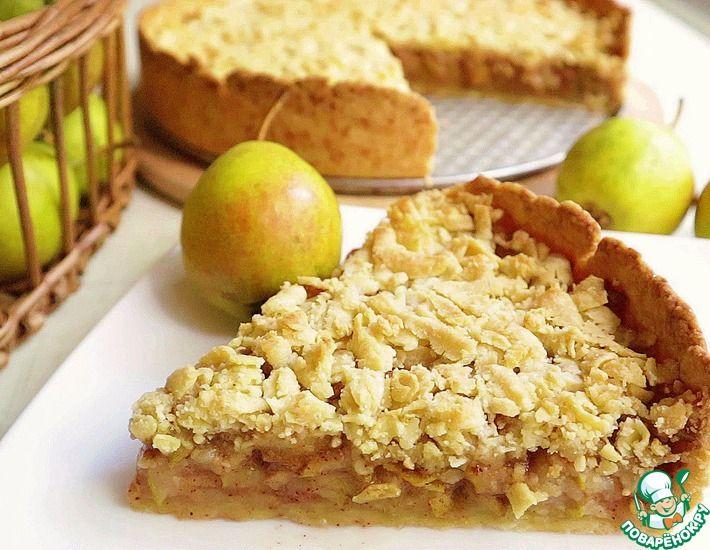 Рецепт: Грушевый/яблочный пирог