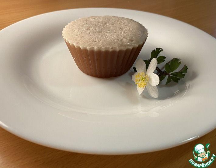 Рецепт: Нежный шоколадный десерт из желатина