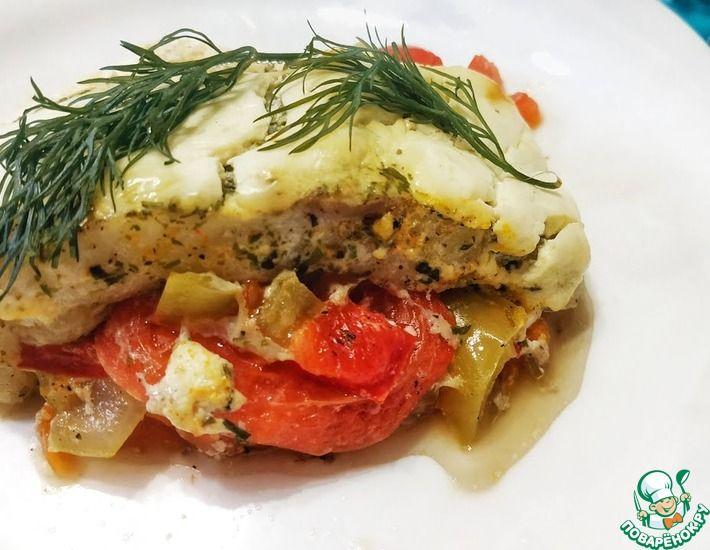 Рецепт: Филе пангасиуса в духовке с овощами
