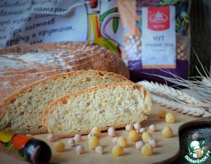 Рецепт: Нутовый хлеб с семечками