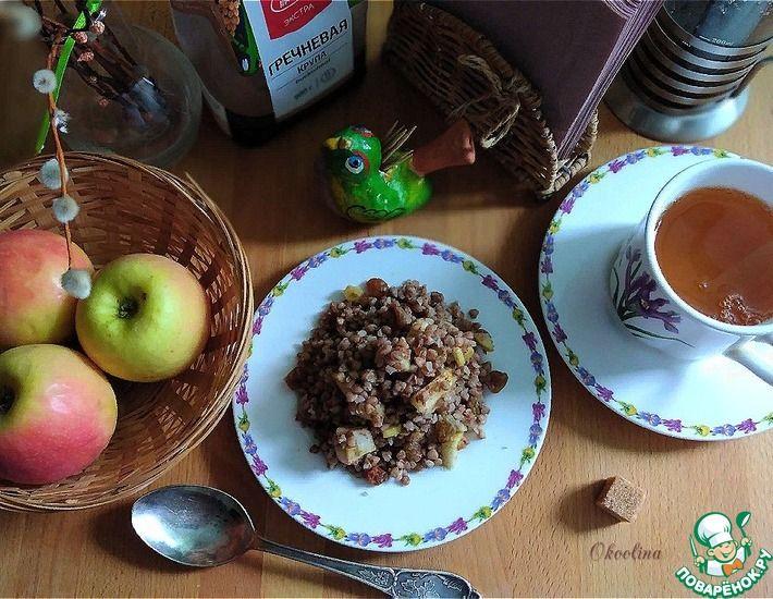 Рецепт: Гречка сваренная на зелёном чае