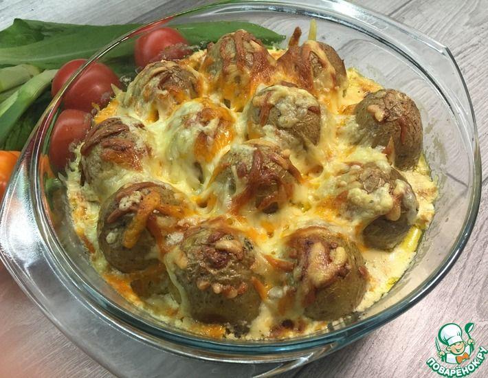 Рецепт: Картошка в духовке Оранж