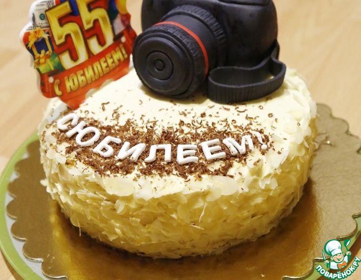 Рецепт: Торт медовик для фотографа