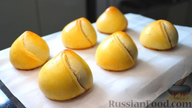 Фото к рецепту: Турецкие пирожки с яблоками