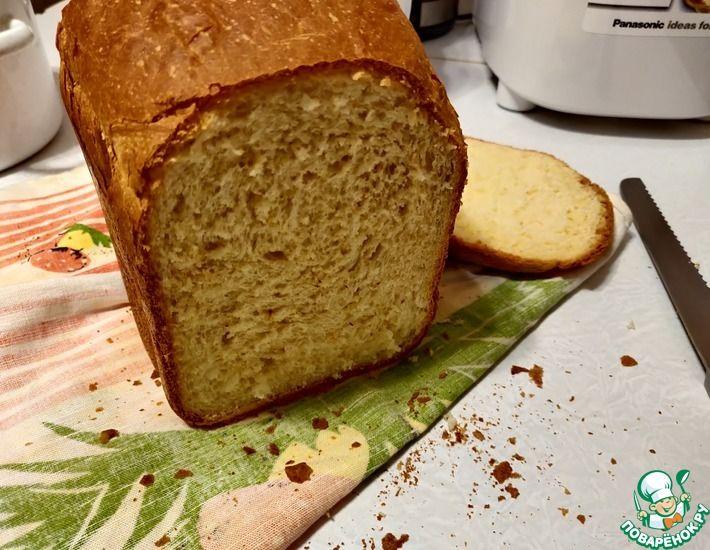 Рецепт: Яичный хлеб в хлебопечке