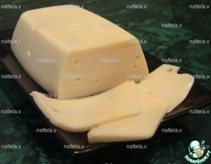 Рецепт: Домашний сыр без яиц в молоковарке