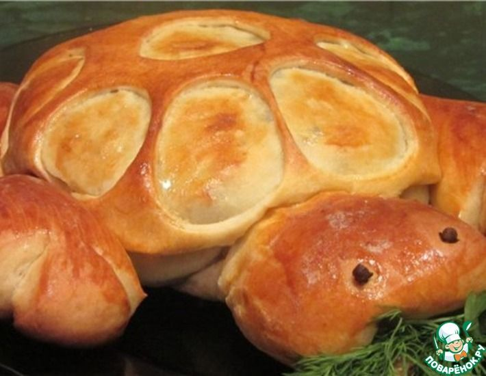 Рецепт: Дрожжевой пирог Тортилла