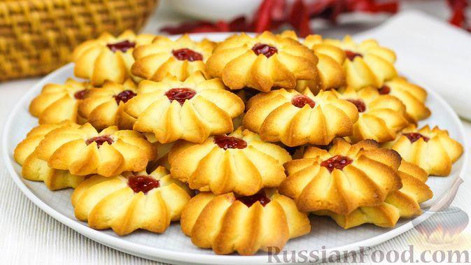 """Фото к рецепту: Песочное печенье """"Курабье бакинское"""""""
