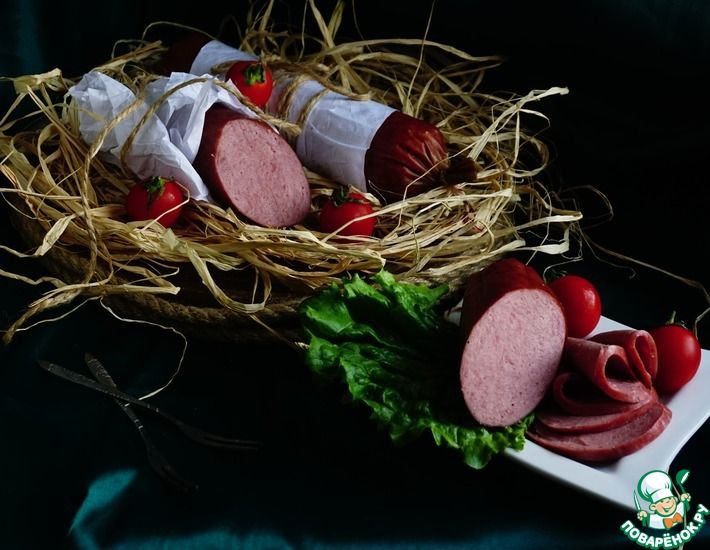 Рецепт: Колбаса докторская (ДСТУ 4436:2005)